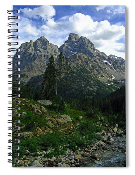 Cascade Creek The Grand Mount Owen Spiral Notebook