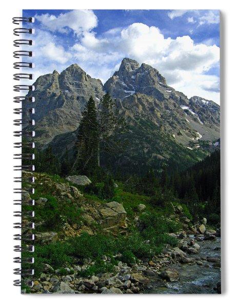 Cascade Creek The Grand Mount Owen Spiral Notebook