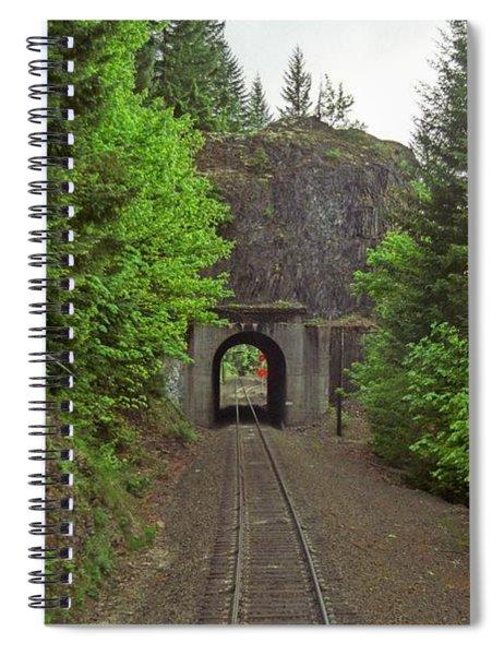 Cascades Tunnel 15 Spiral Notebook