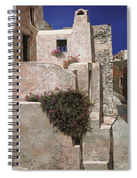 case a Santorini Spiral Notebook