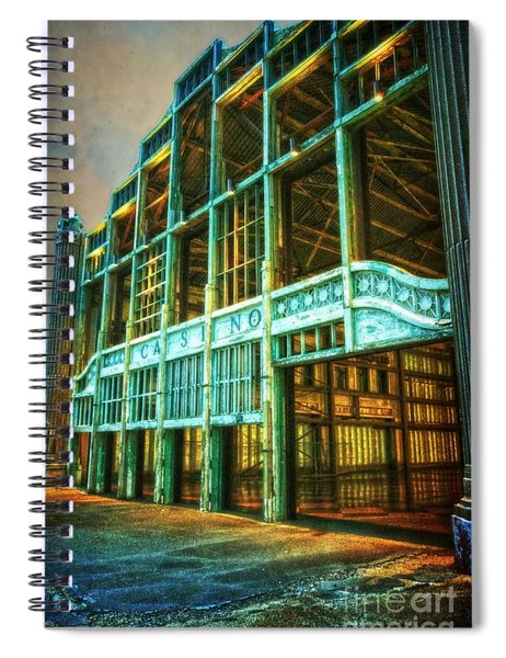 Casino Spiral Notebook