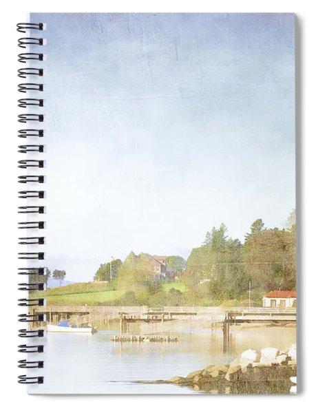 Castine Harbor Maine Spiral Notebook