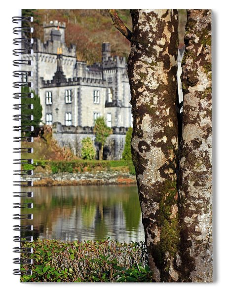 Castle Behind The Trees Spiral Notebook