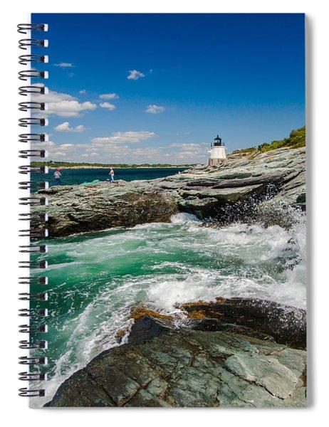 Castle Hill Lighthouse Spiral Notebook