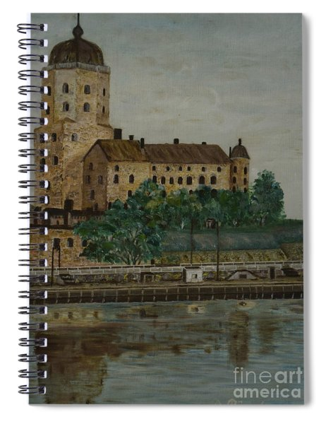 Castle Of Vyborg Spiral Notebook