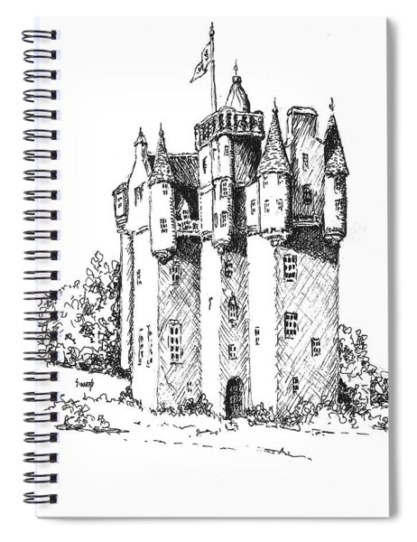 Castle Spiral Notebook