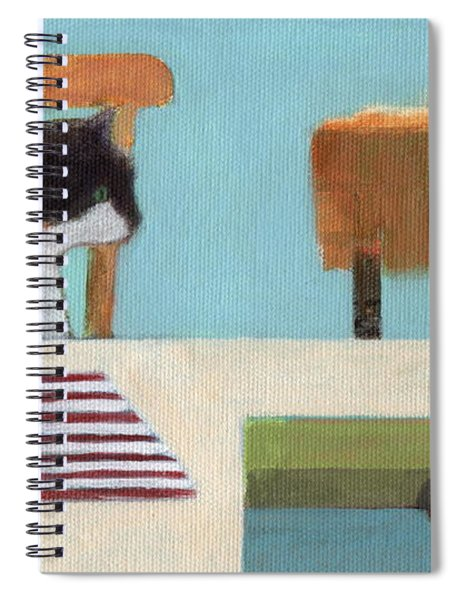 Cat And Bunny Spiral Notebook