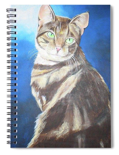 Cat Profile Spiral Notebook