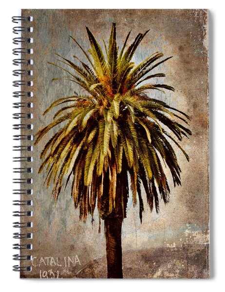 Catalina 1932 Postcard Spiral Notebook