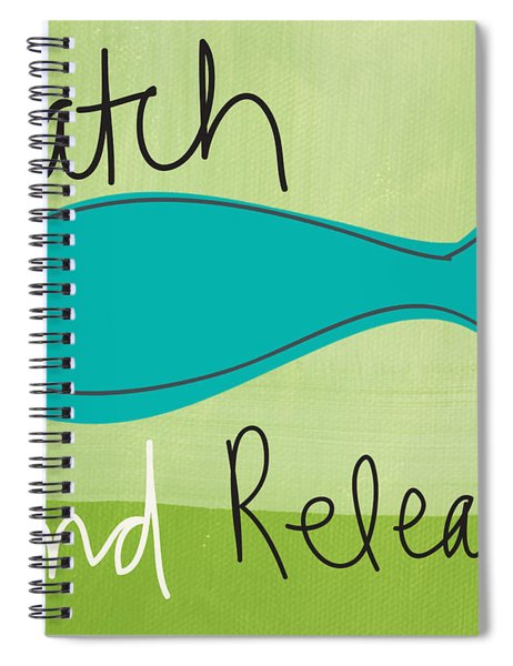 Catch And Release Spiral Notebook