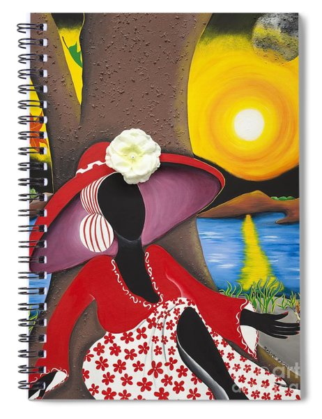 Catch Me In The Morning II Spiral Notebook