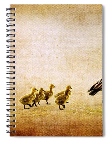 Catch Up Little Gosling Spiral Notebook