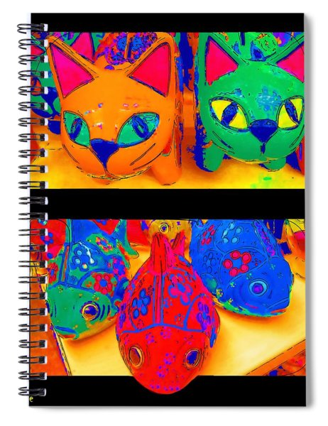 Catfish Spiral Notebook