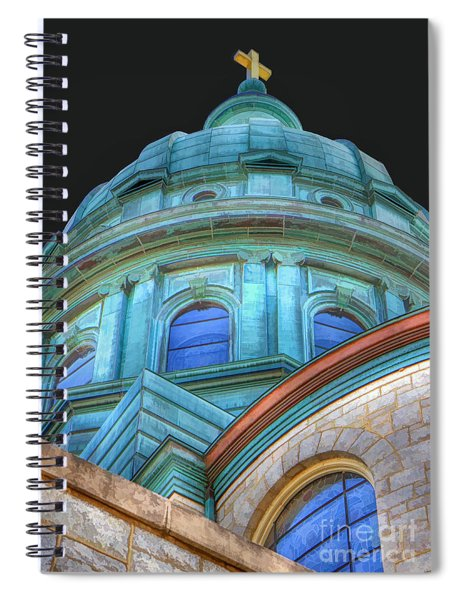 Cathedral Dome Spiral Notebook