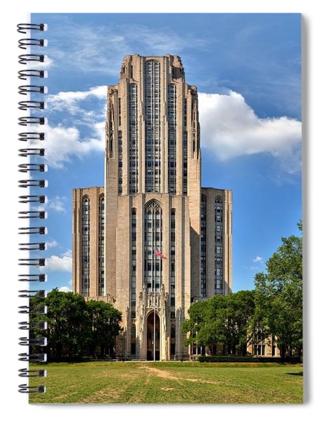 Cathedral Of Learning Pittsburgh Pa Spiral Notebook