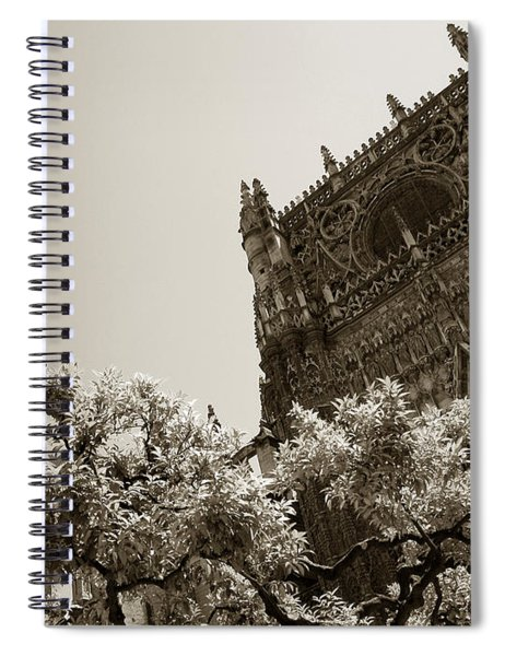 Cathedral Of Seville Spiral Notebook