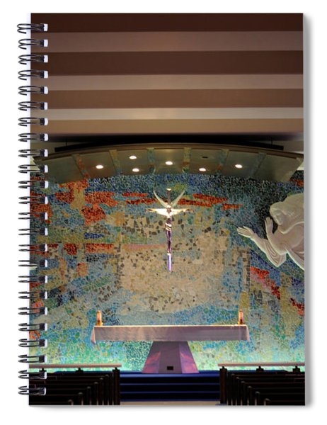 Catholic Chapel At Air Force Academy Spiral Notebook
