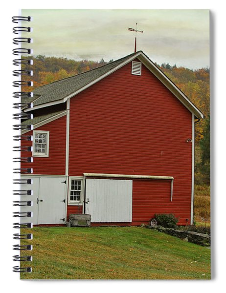 Catskill Red Barn Spiral Notebook