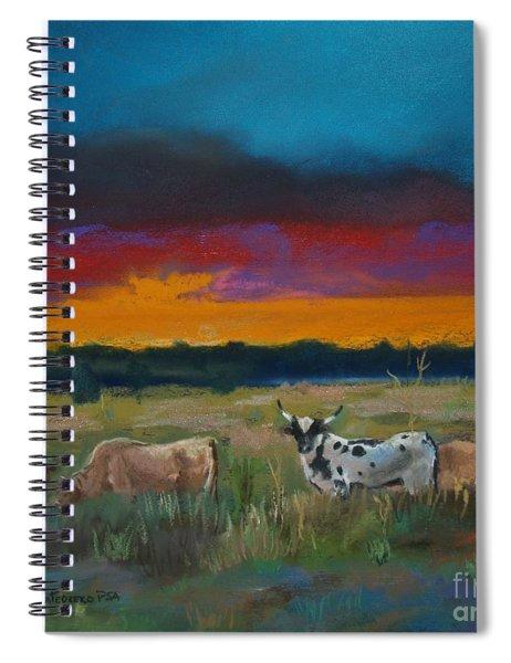 Cattle's Cadence Spiral Notebook