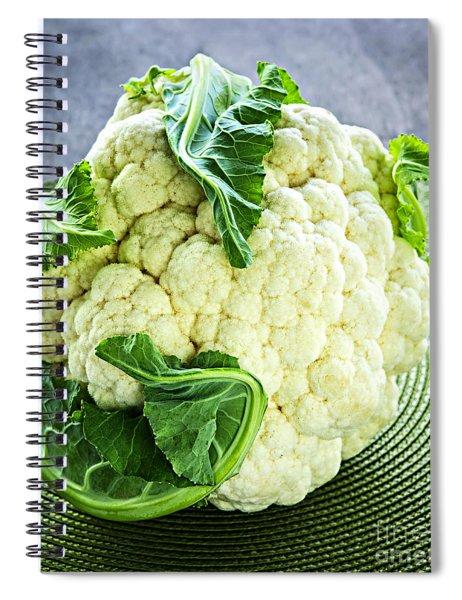 Cauliflower Spiral Notebook