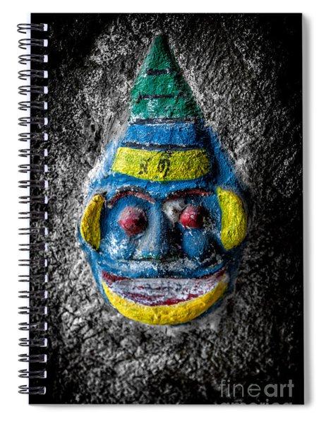Cave Face 3 Spiral Notebook