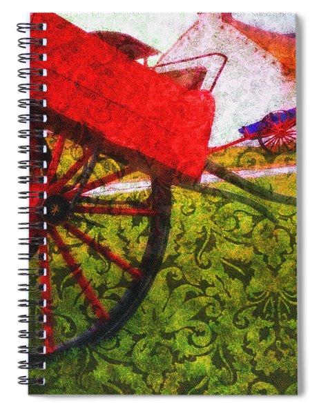 Cead Mile Failte  Spiral Notebook