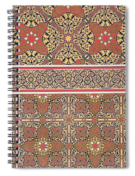 Ceiling Arabesques From The Mosque Of El-bordeyny Spiral Notebook