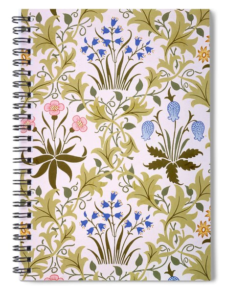 Celandine Wallpaper Design Spiral Notebook