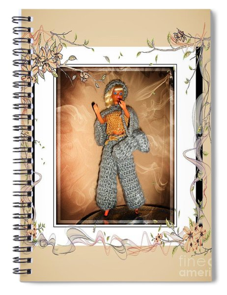 Celebrating Life - Fashion Doll - Girls - Collection Spiral Notebook