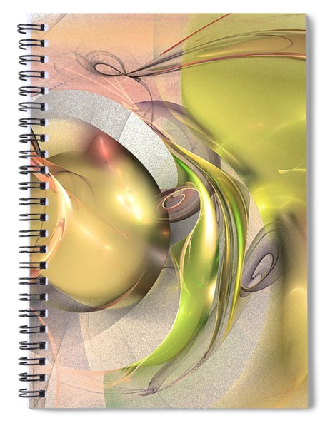 Celebration Of Fertility Spiral Notebook