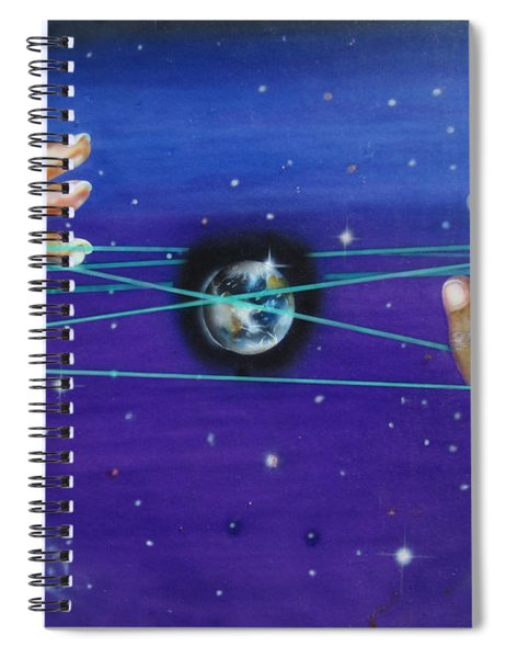 Celestial Cats Cradle Spiral Notebook