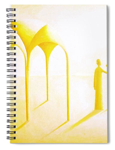 Celestial Dimension Spiral Notebook