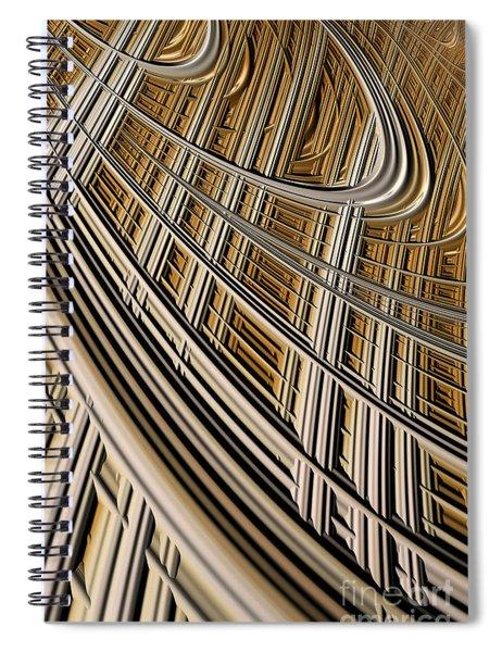 Celestial Harp Spiral Notebook