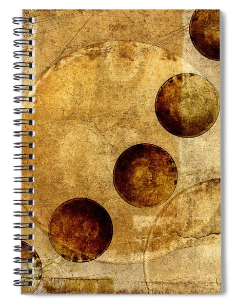 Celestial Spheres Spiral Notebook