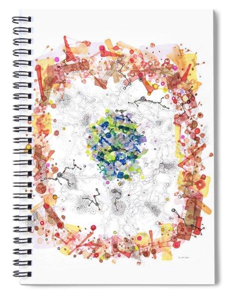 Cellular Generation Spiral Notebook