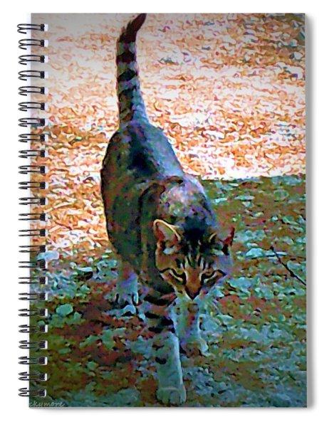 Cemetery Cat Spiral Notebook