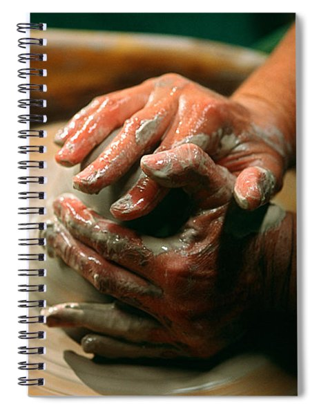 Centering Clay Spiral Notebook