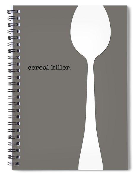 Cereal Killer Spiral Notebook