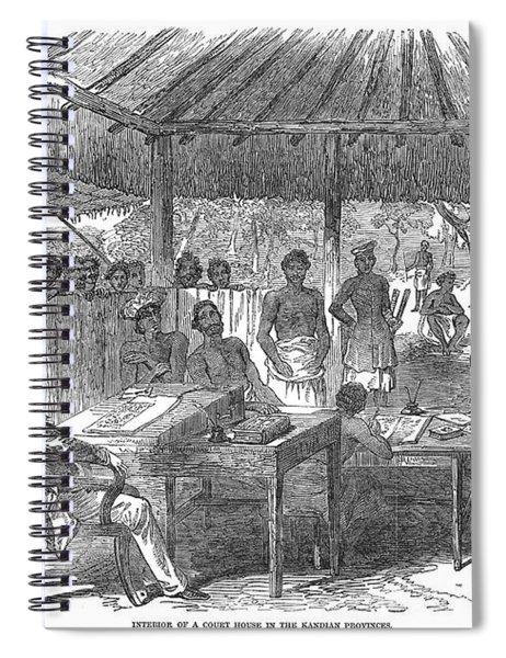 Ceylon Court House, 1850 Spiral Notebook