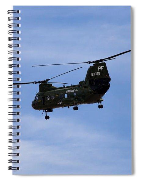 Ch-46 Vietnam Era Paint Spiral Notebook