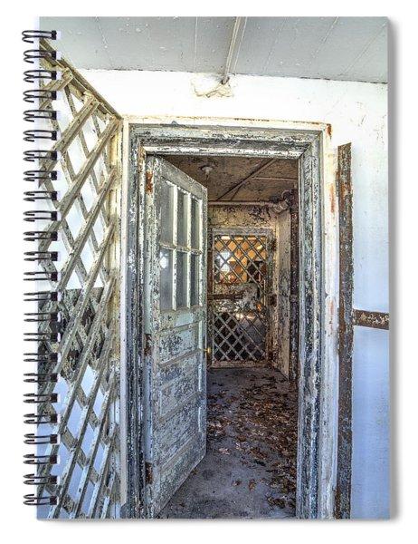 Chain Gang-1 Spiral Notebook