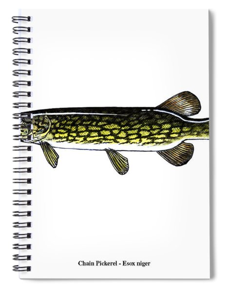 Chain Pickerel Spiral Notebook