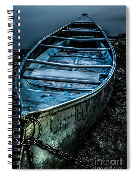 Chained At The Waters Edge Spiral Notebook