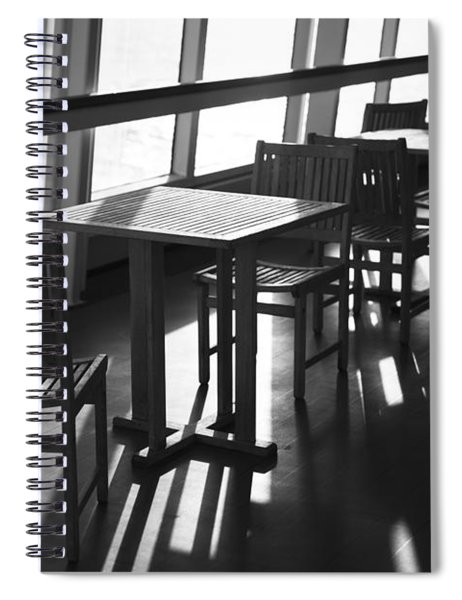 Chairs And Tables Spiral Notebook