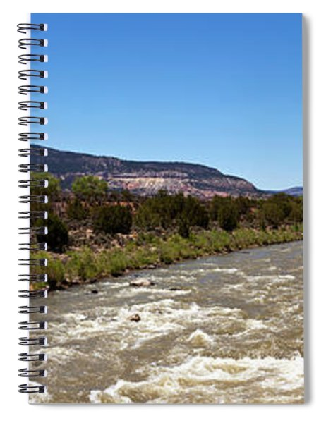 Chama River A Major Tributary River Spiral Notebook