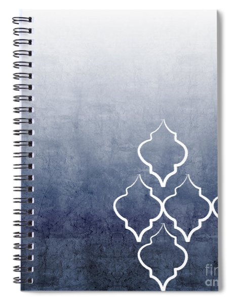 Chambray Ombre Spiral Notebook