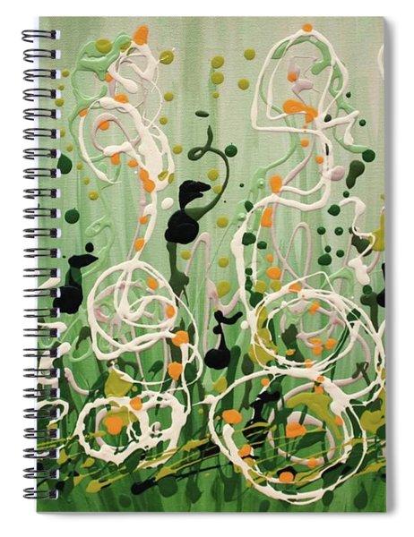 Champagne Symphony Spiral Notebook