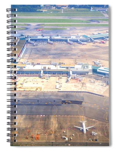 Changi Airport Spiral Notebook