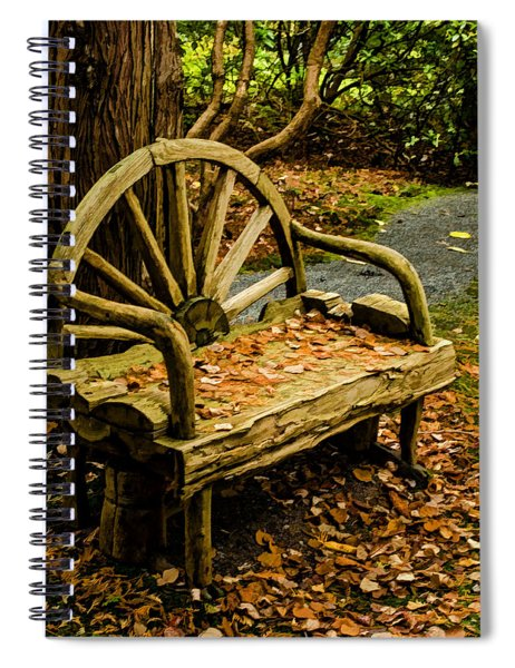 Changing Of The Seasons Spiral Notebook