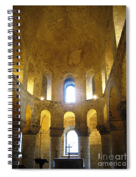 Chapel Glow Spiral Notebook